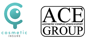 Accredited by ACE Aesthetic Complications Expert Group and Cosmetic Insure